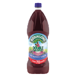 robinsons double concentrate apple blackcurrant 1750