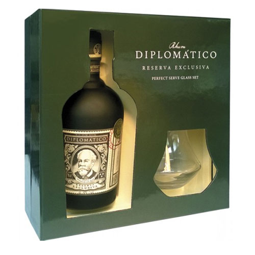 Diplomatico Reserva Exclusiva Rum 70cl Gift Pack