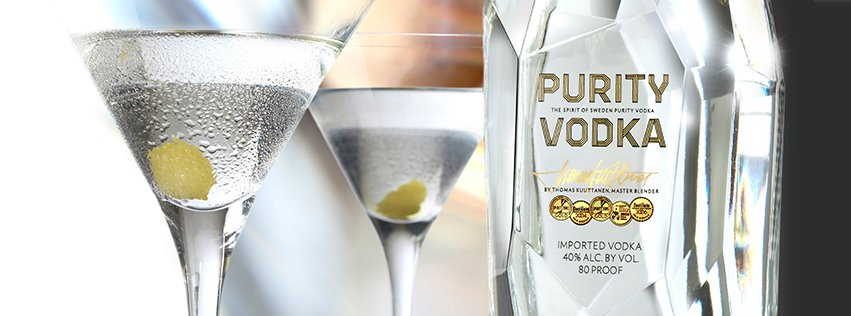 Cocktail with Purity Vodka