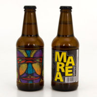 Marea Beer bottles