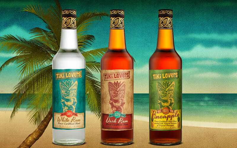 Tiki Lovers Rums