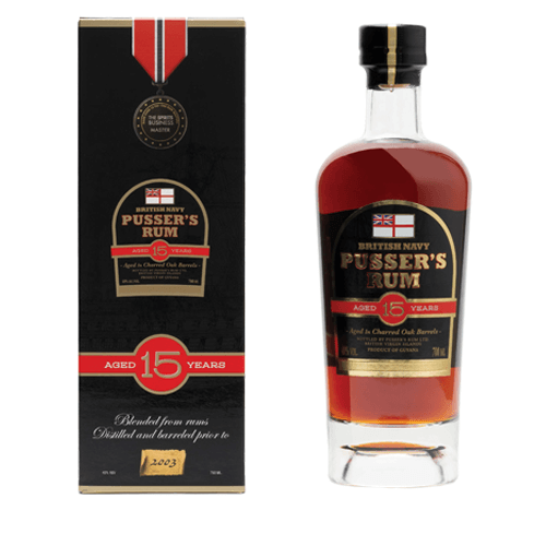 Pusser's 15 Year Old Rum