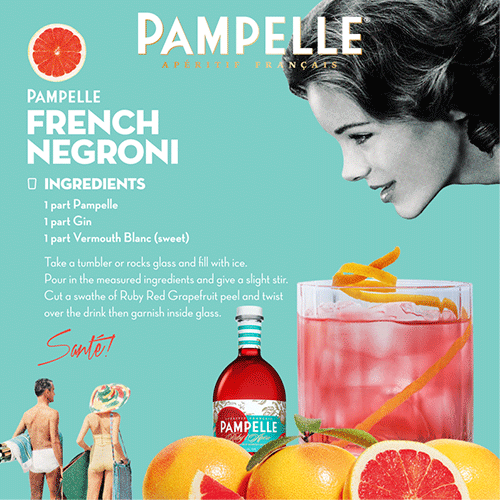 Pampelle recipe French Negroni