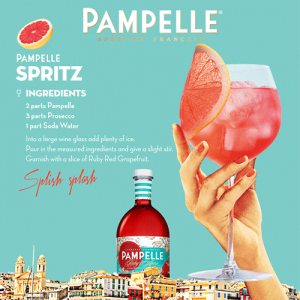 Pampelle recipe Spritz