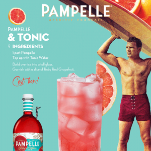 Pampelle recipe tonic