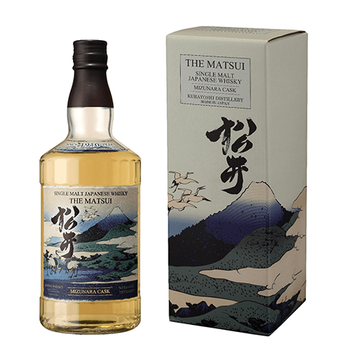 The Matsui Single Malt Japanese Whisky, Mizuara Cask
