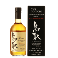 Tottori Blended Japanese Whisky, Aged in Bourbon Barrel